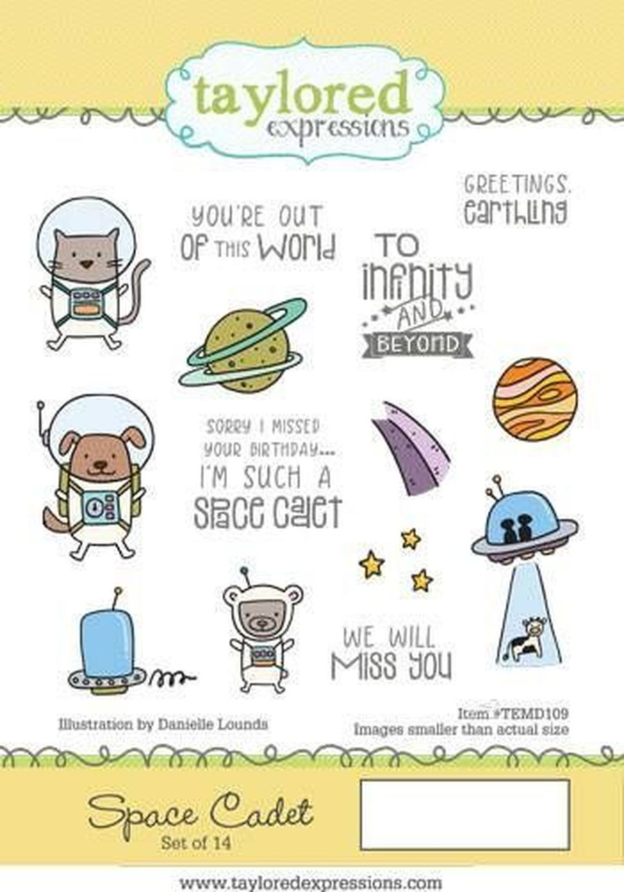 Taylored Expressions - Space Cadet Stamp Set