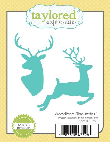 Taylored Expressions - Woodland Silhouettes 1 Dies