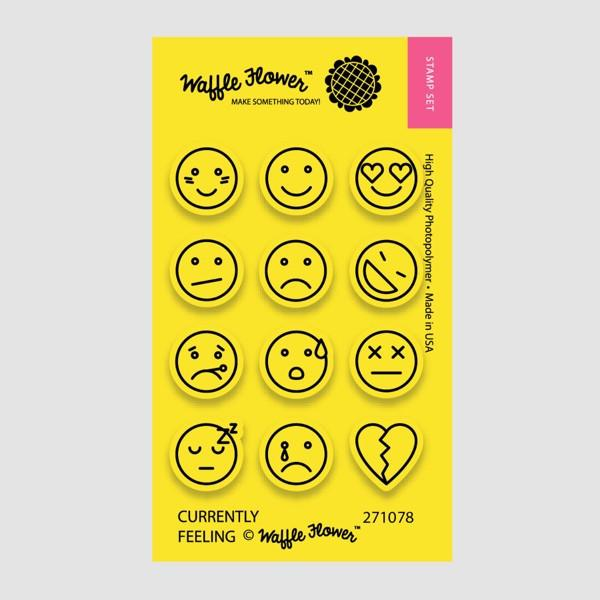 Waffle Flower - Currently Feeling Stamp Set