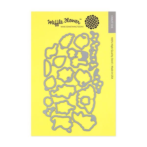 Waffle Flower - Jungle Birthday Die