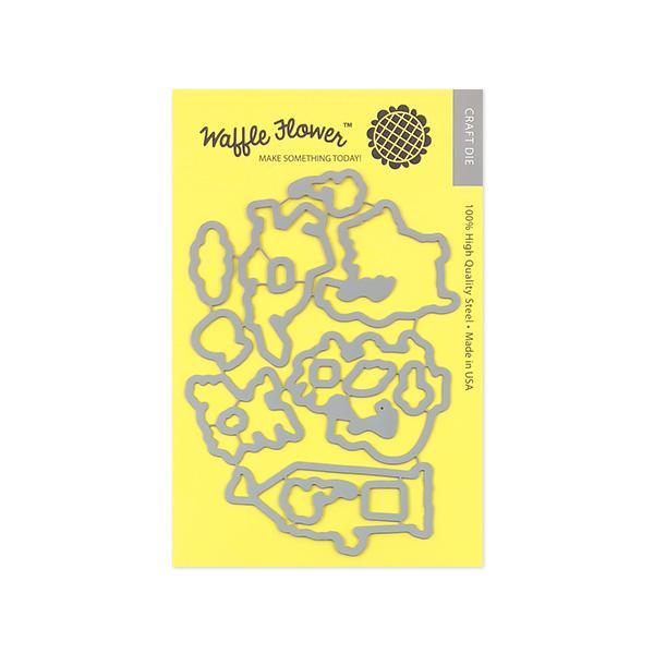 Waffle Flower - Level Up Die