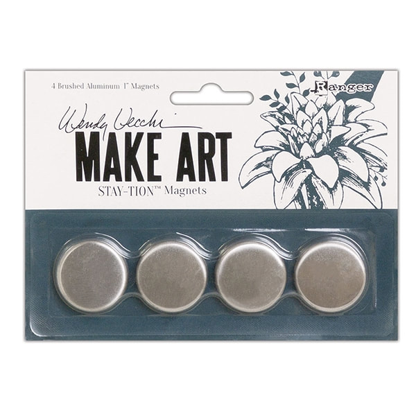 Wendy Vecchi MAKE ART Stay-tion Magnets