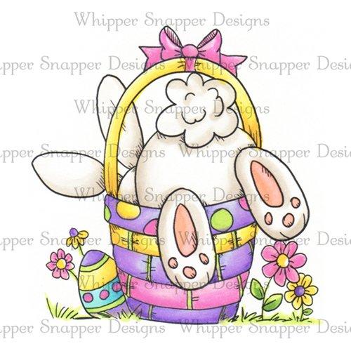 Whipper Snapper - Cute Bunny Butt Stamp