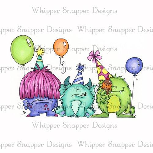 Whipper Snapper - Monster Mash Stamp
