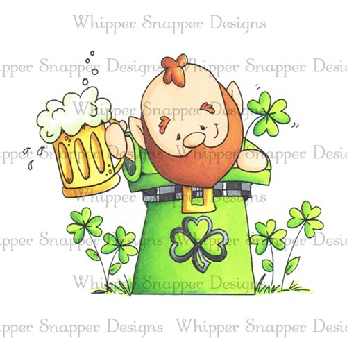 Whipper Snapper - St. Patty Cheers Stamp