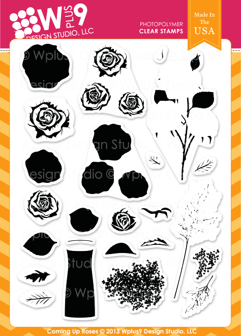 WPlus9 - Coming up Roses Stamp Set