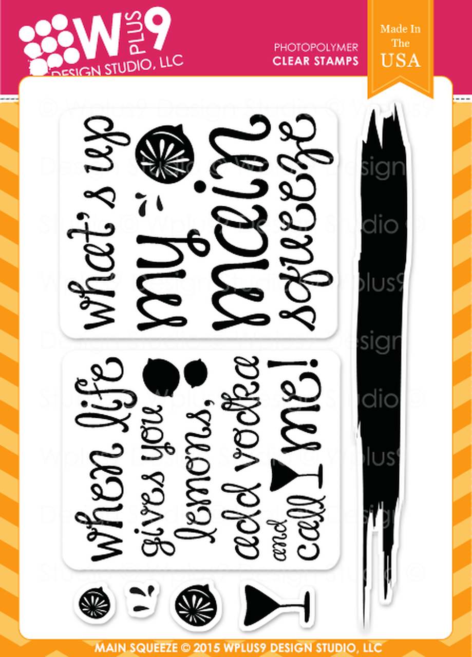 WPlus9 - Main Squeeze Stamp Set