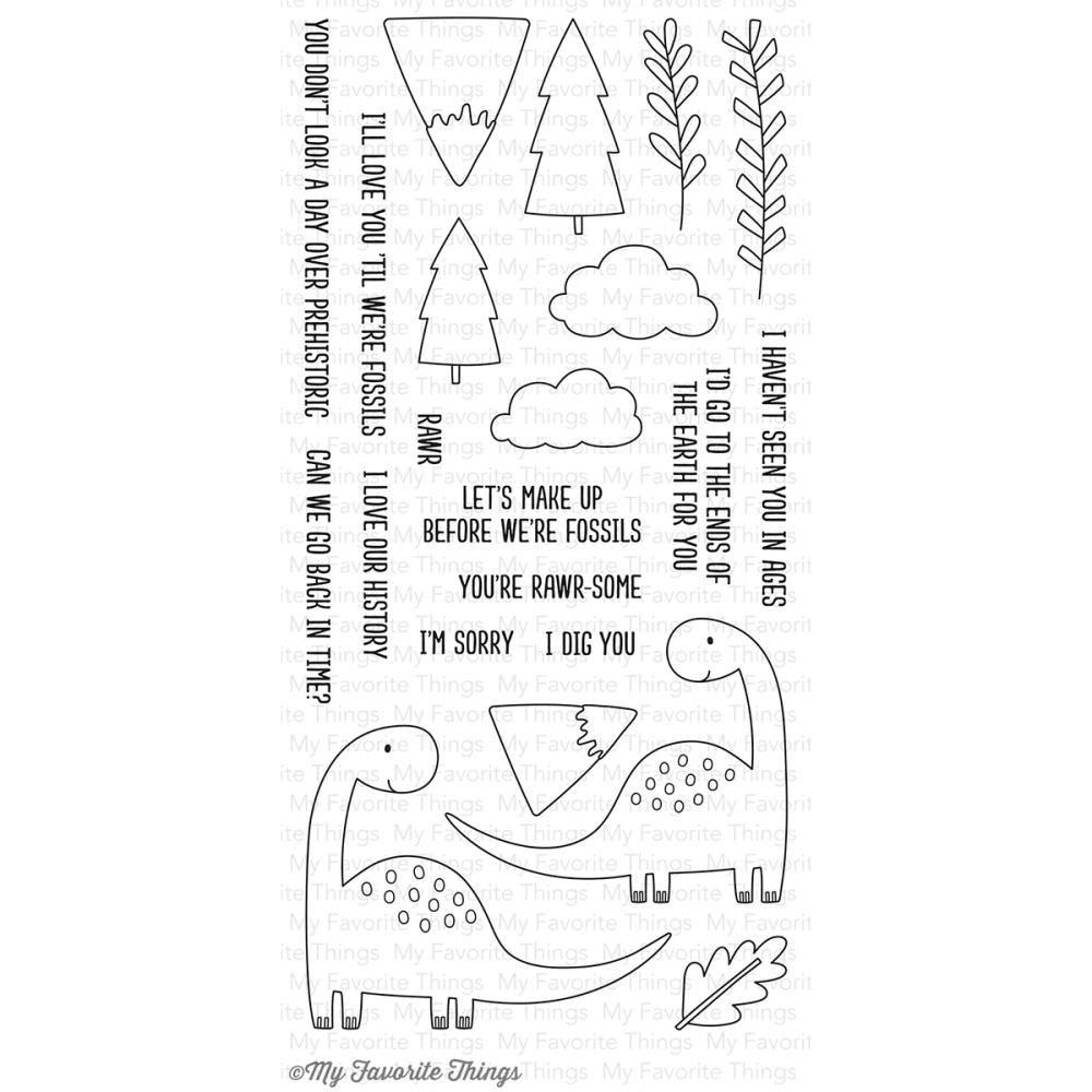 MFT - Prehistoric Fun Stamp/Die Set