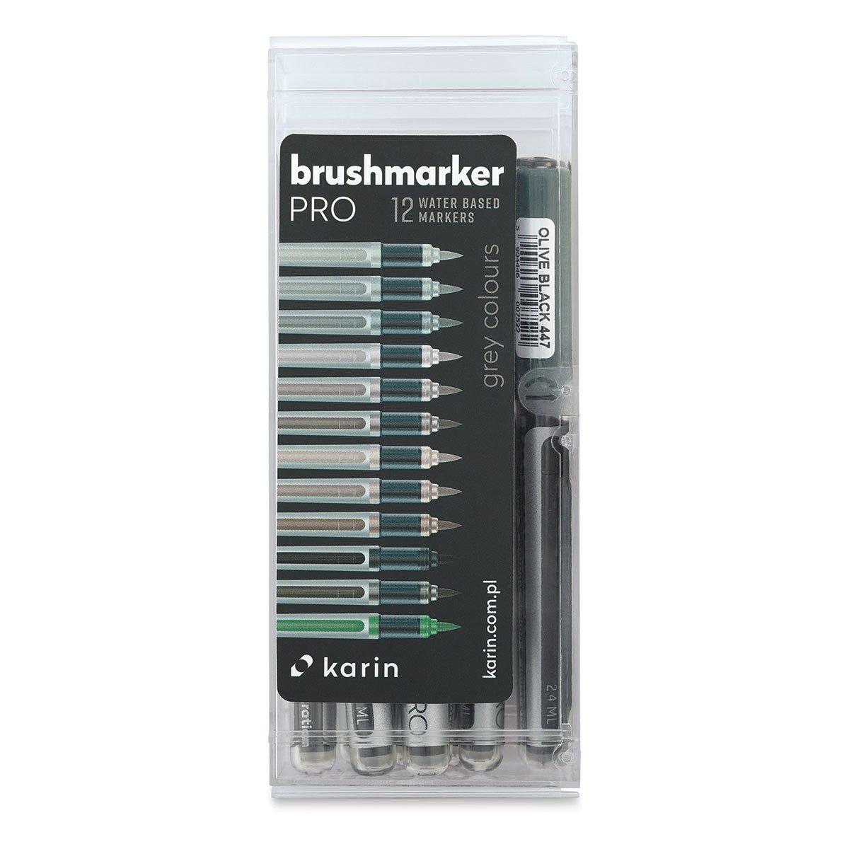 Karin - Brushmarkers Gray Set