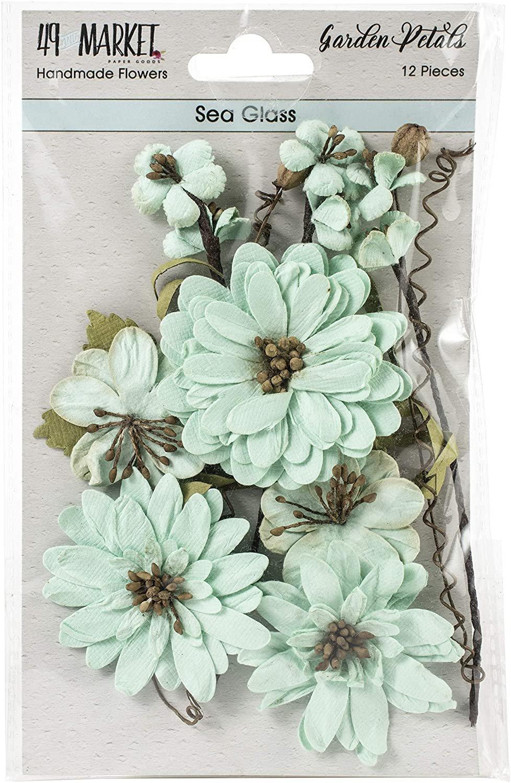 49 & Market - Garden Petals: Sea Glass