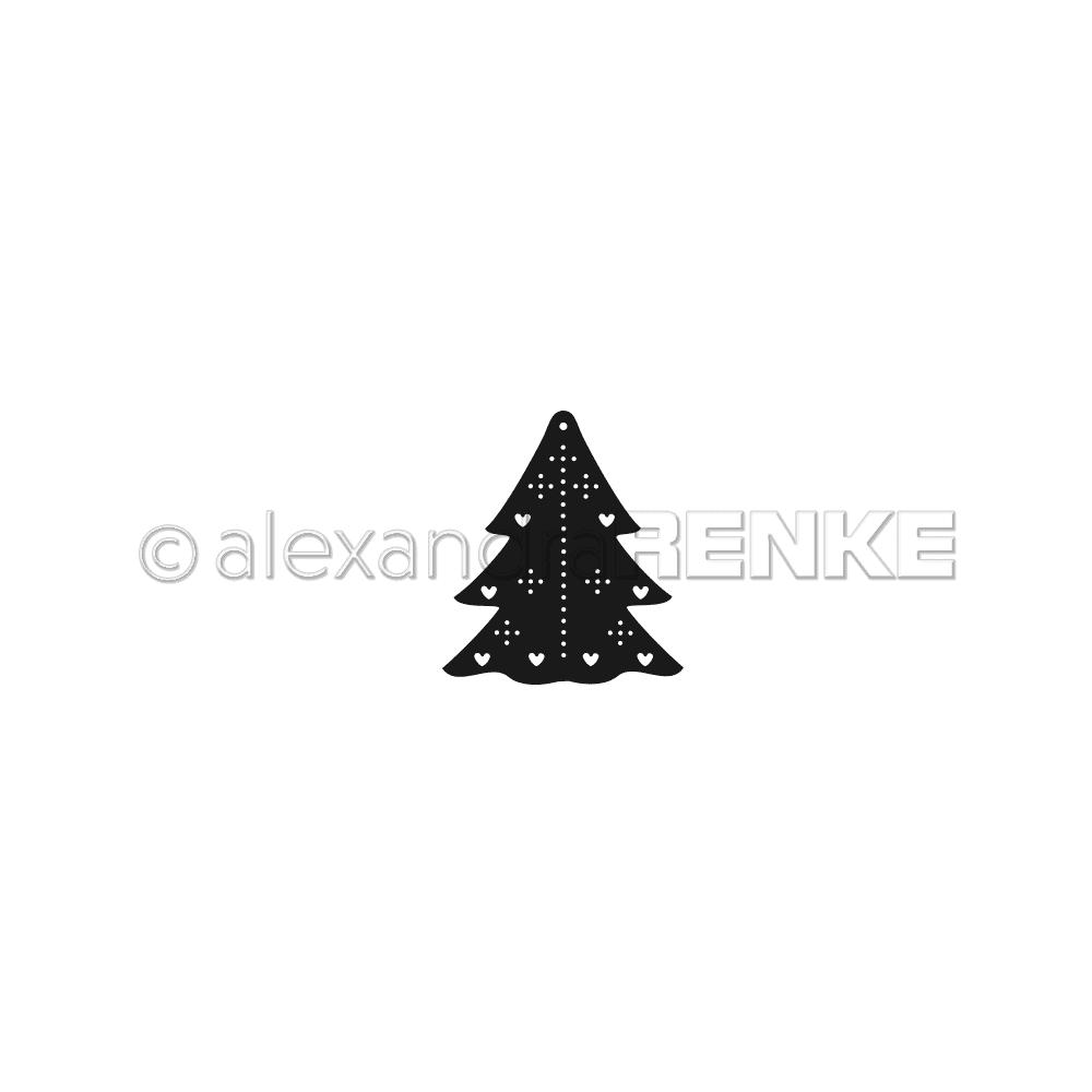 Alexandra Renke - Little Christmas Tree Die