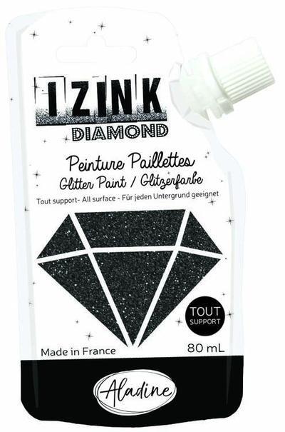 Aladine - Seth Apter IZINK Diamond Glitter Paint: Noir