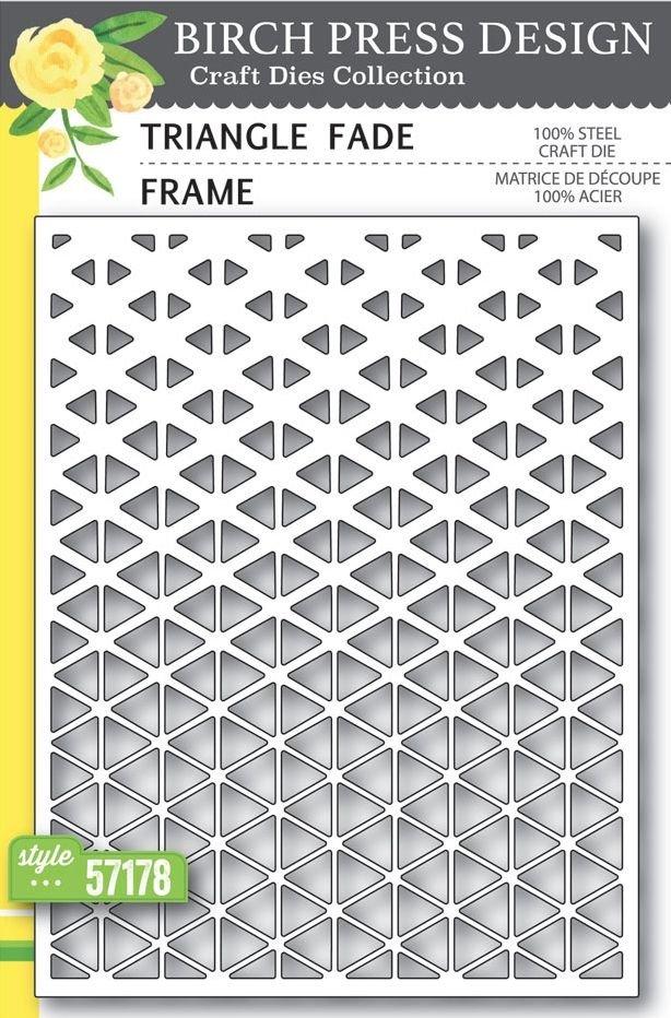 Birch Press Design - Triangle Fade Die