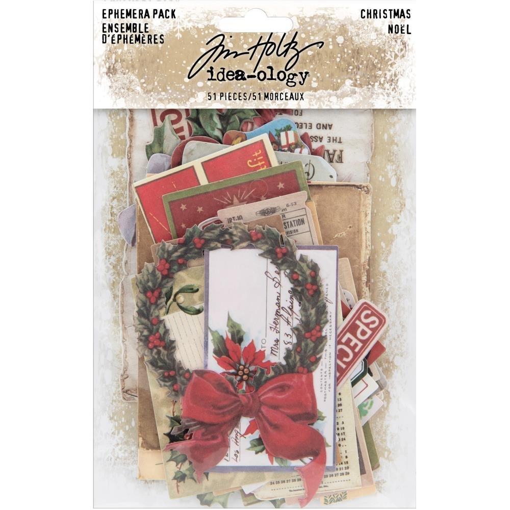 Tim Holtz Idea-ology - Christmas Ephemera Pack