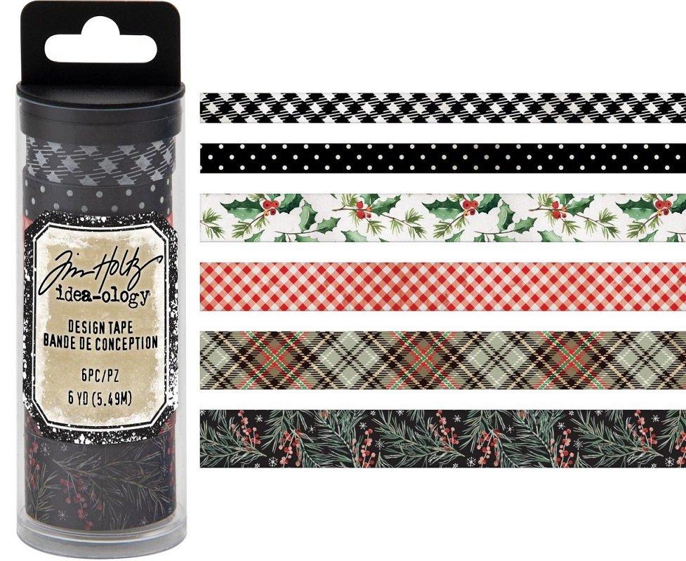 Tim Holtz idea-ology - Design Tape Christmas