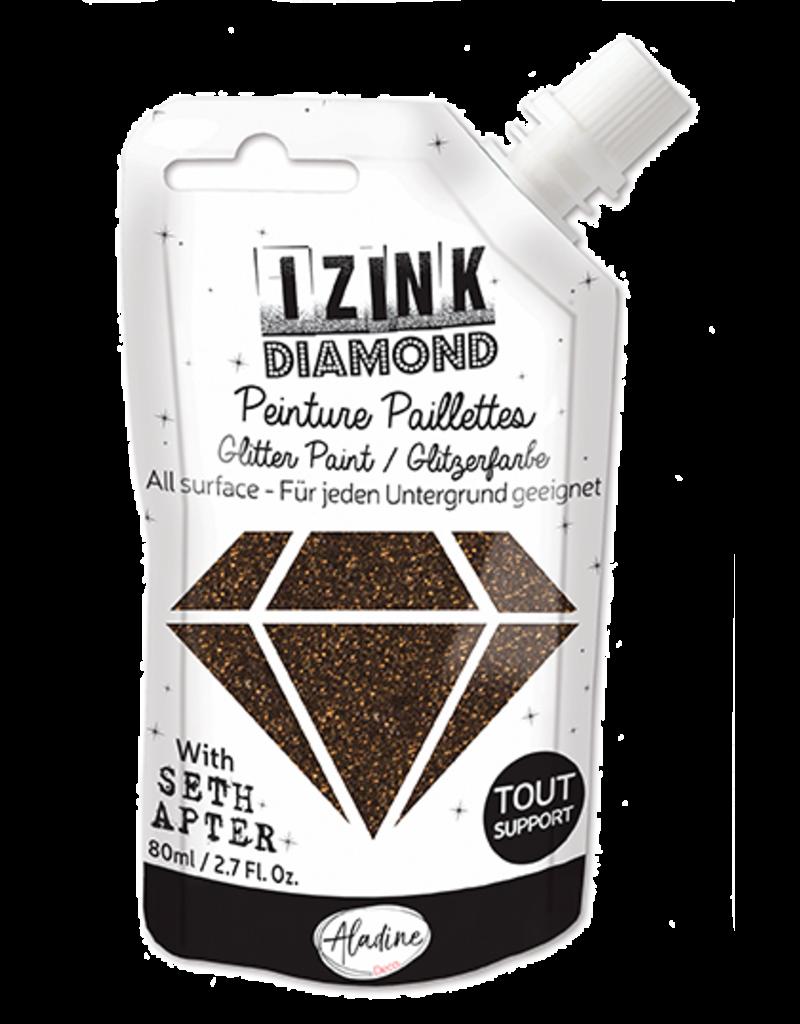 Aladine - Seth Apter IZINK Diamond Glitter Paint: Black Coffee