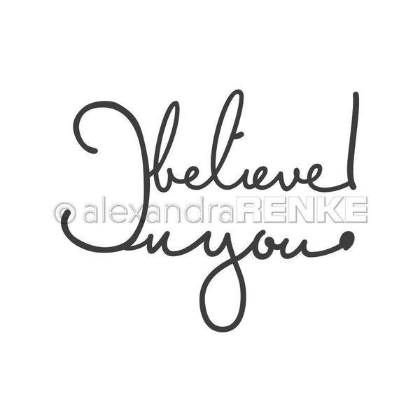 Alexandra Renke - I Believe in You Die