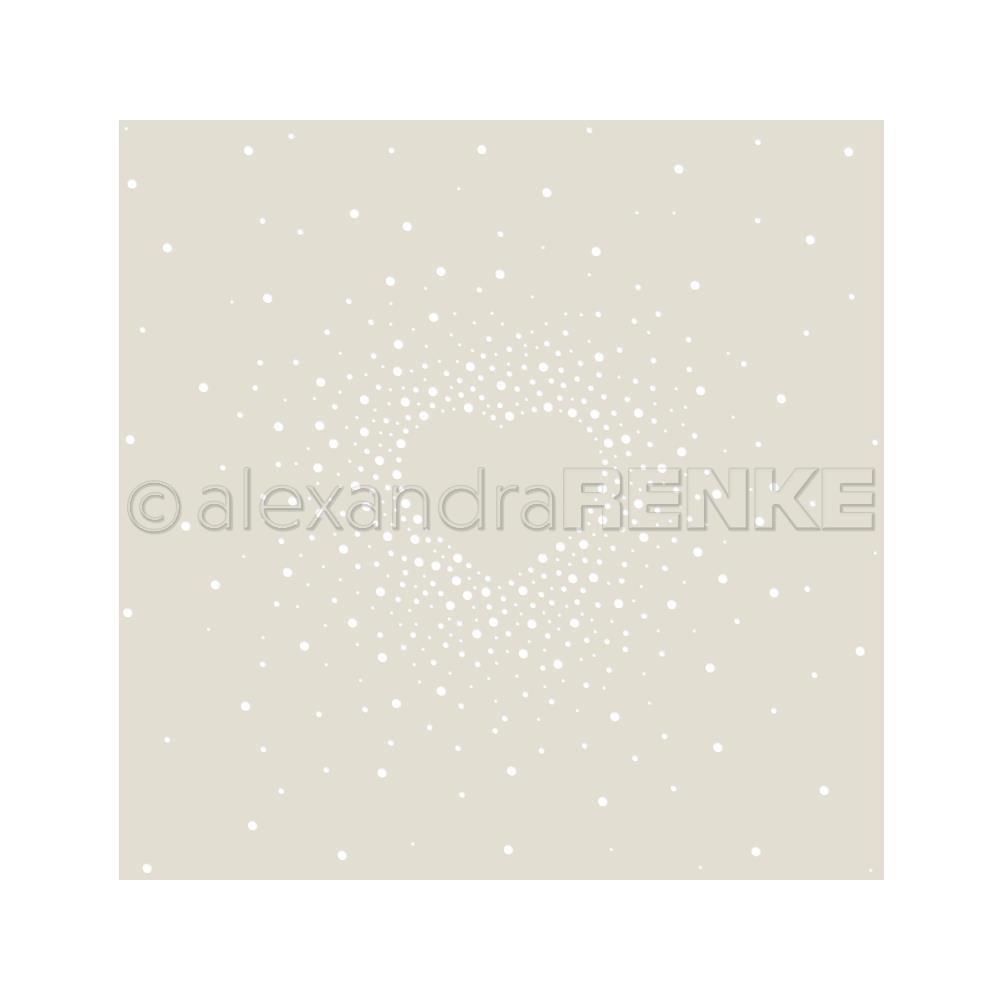 Alexandra Renke - Heart in the Middle Stencil