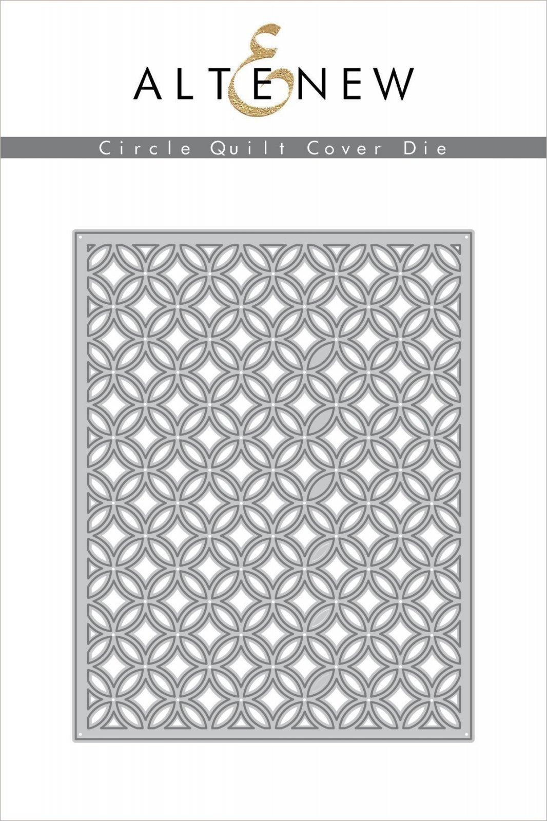 Altenew - Circle Quilt Cover Die