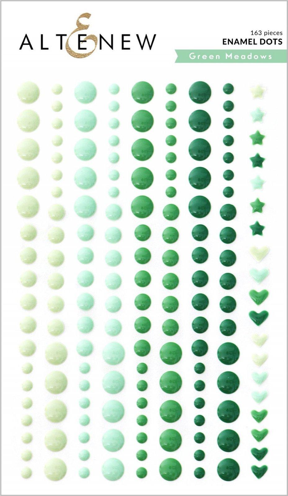 Altenew - Enamel Dots: Green Meadows