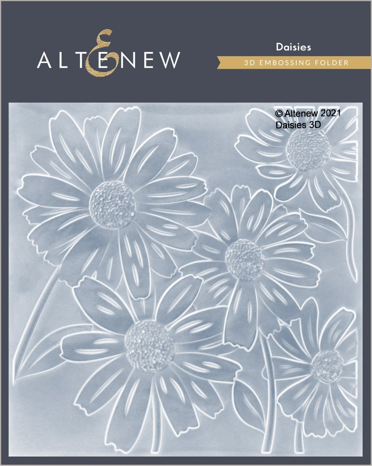 Altenew - Daisies 3D Embossing Folder