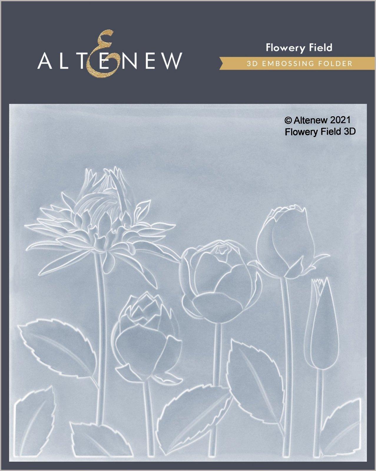 Altenew - Flowery Field 3D Embossing Folder