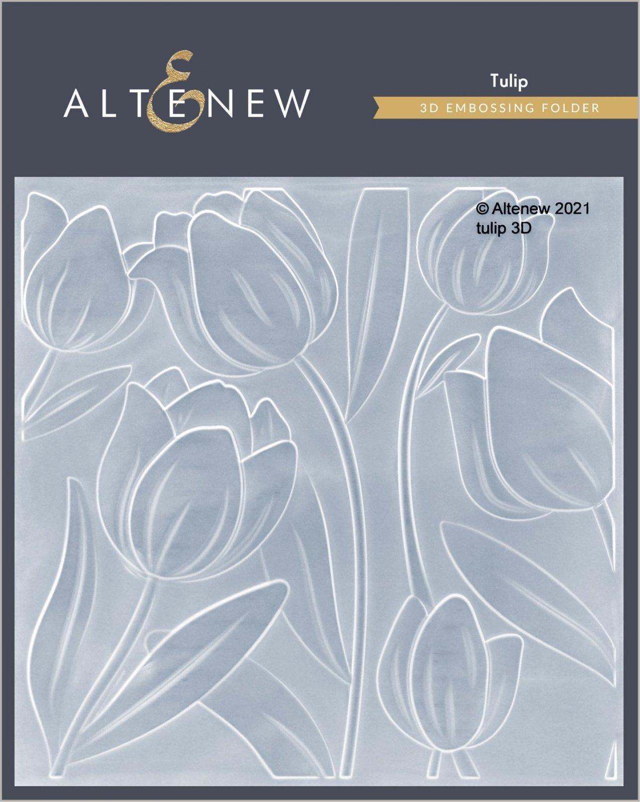 Altenew - Tulip 3D Embossing Folder
