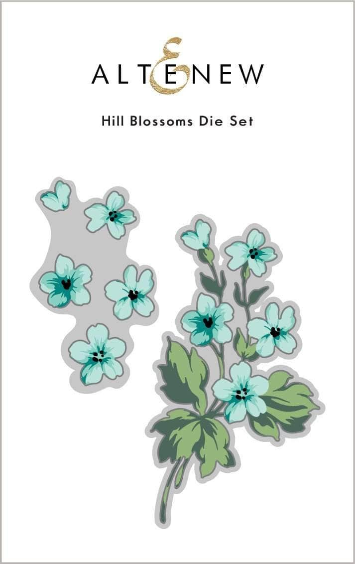 Altenew - Hill Blossoms Die Set