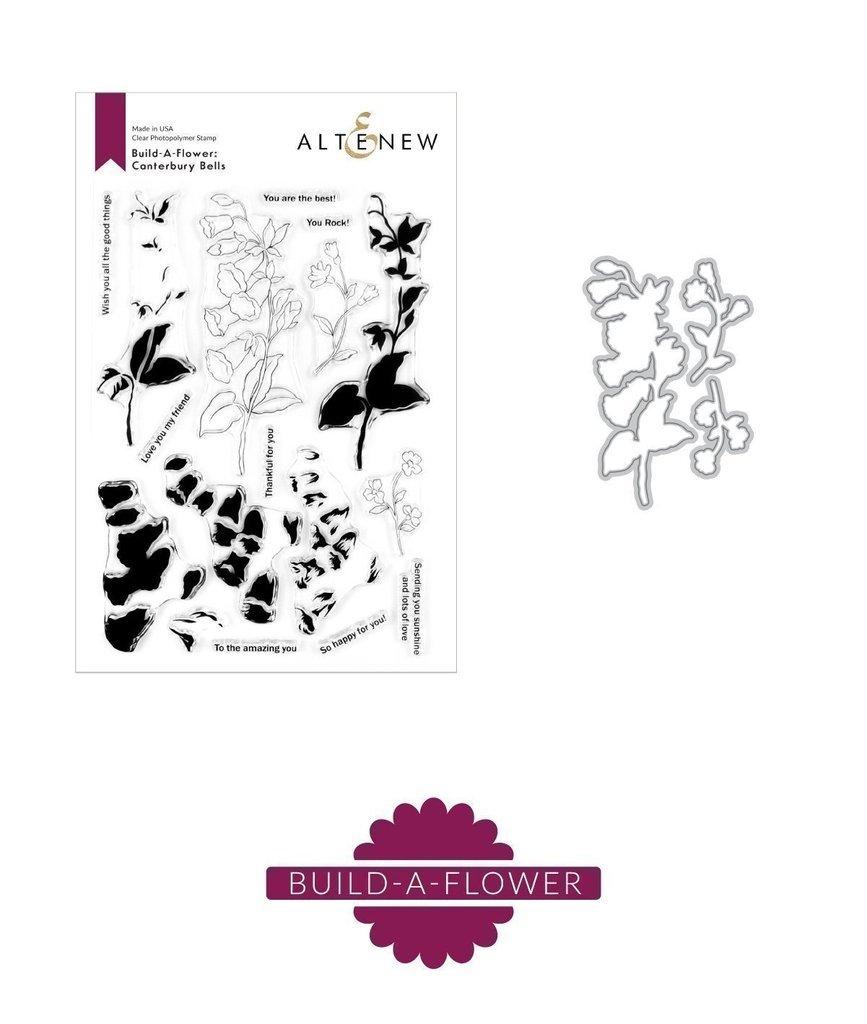 Altenew - Build-A-Flower Canterbury Bells Stamp/Die Set