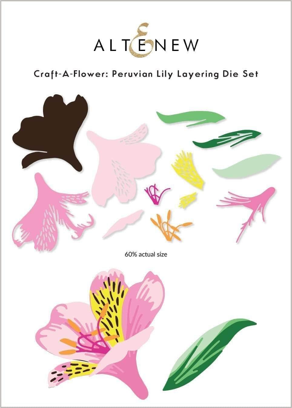 Altenew - Peruvian Lily Die