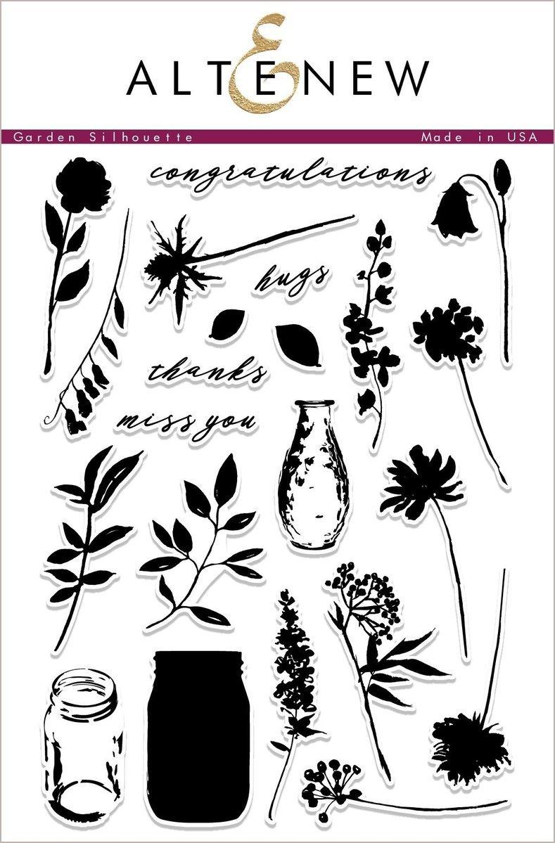 Altenew - Garden Silhouette Stamp/Die Set