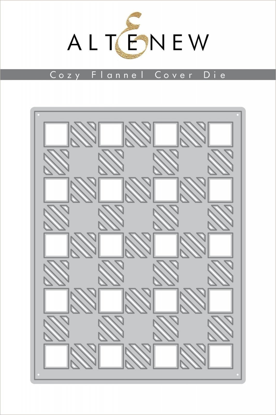 Altenew - Cozy Flannel Cover Die