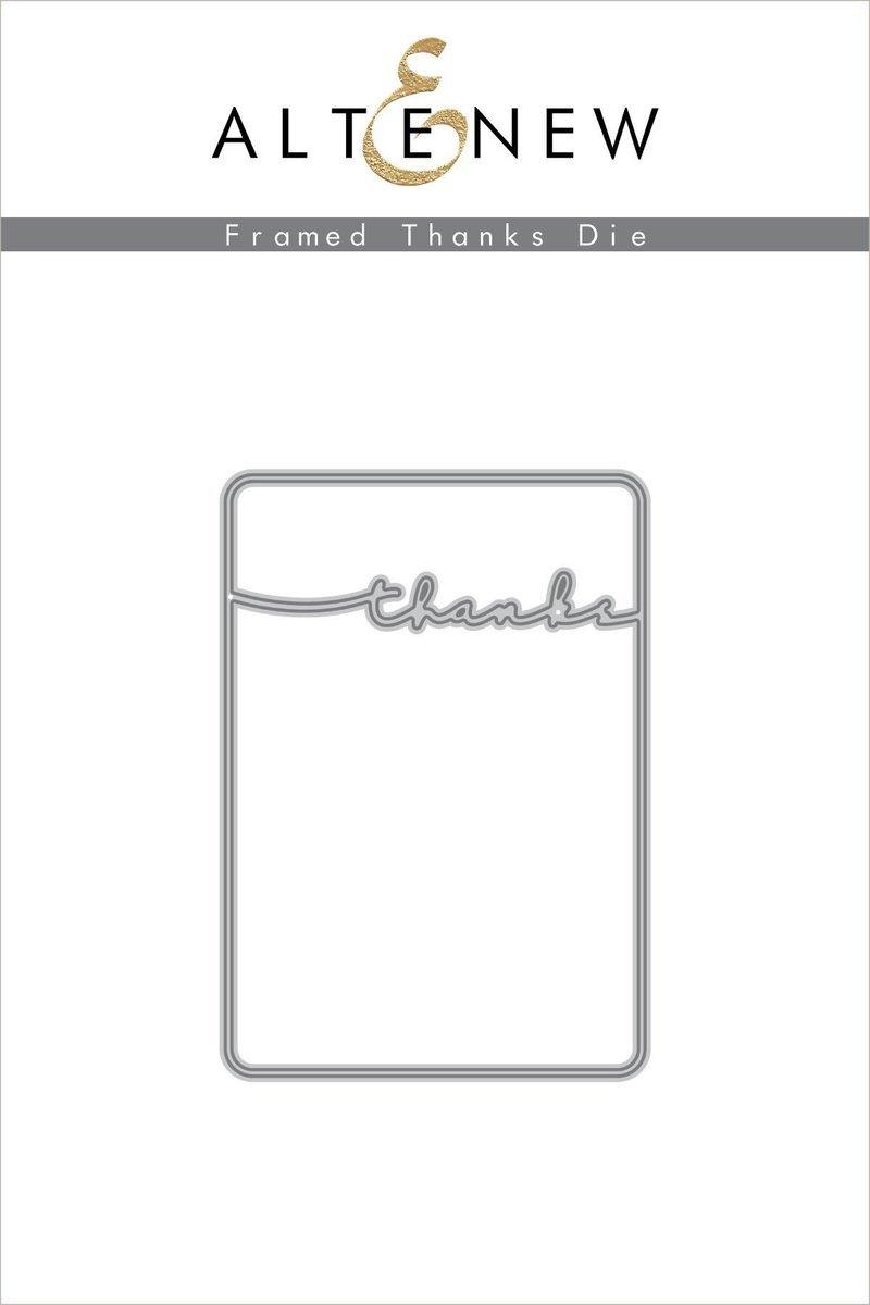 Altenew - Framed Thanks Die