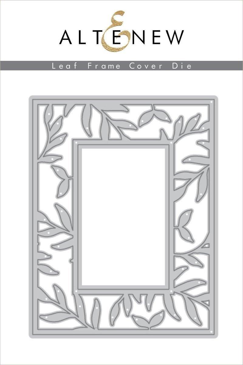 Altenew - Leaf Frame Cover Die