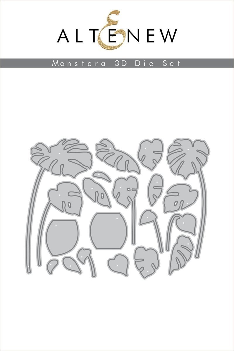 Altenew - Monstera 3D Die Set
