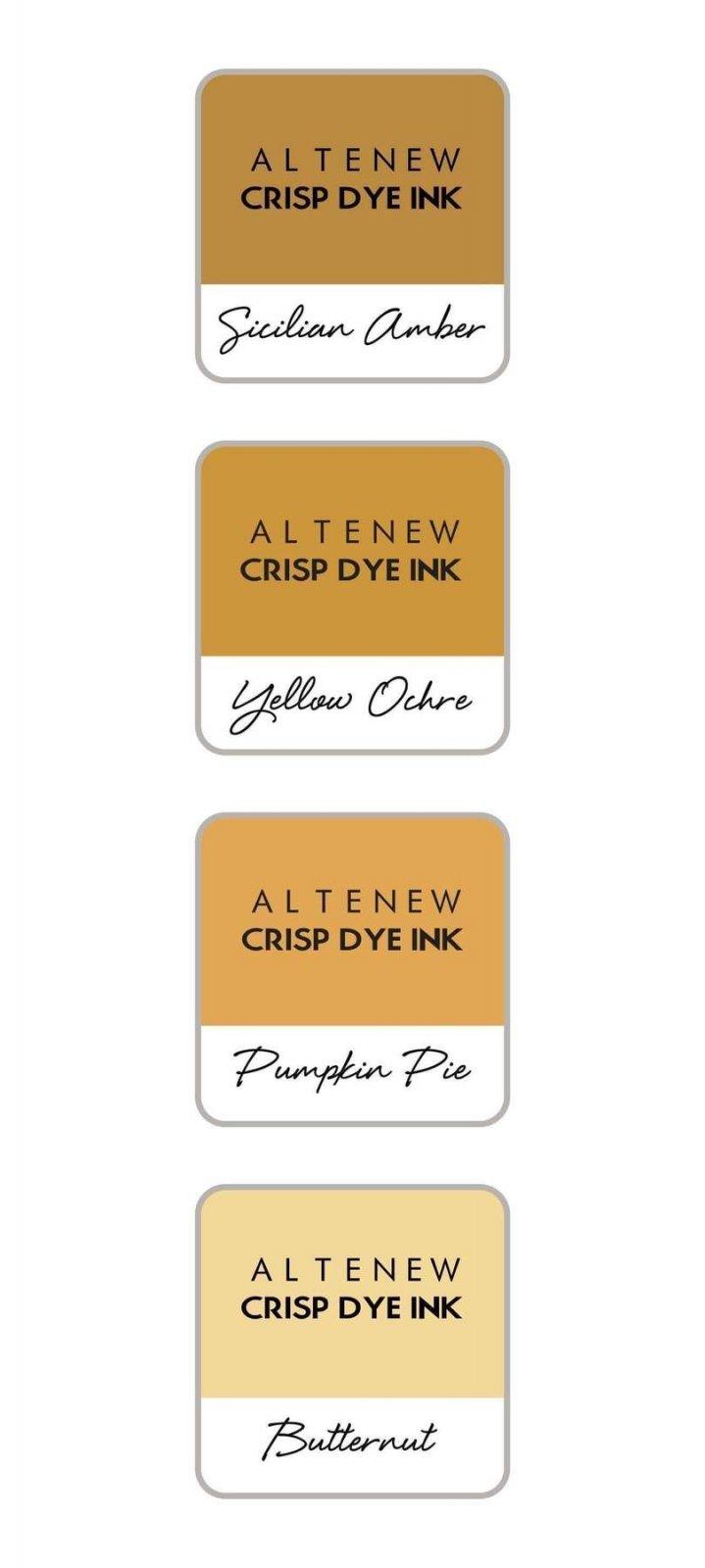 Altenew - Fall Harvest Crisp Dye Ink Mini Cube Set