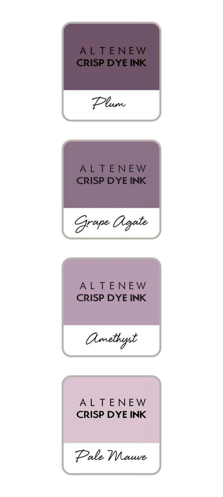 Altenew - Sugarplums Crisp Dye Ink Mini Cube Set