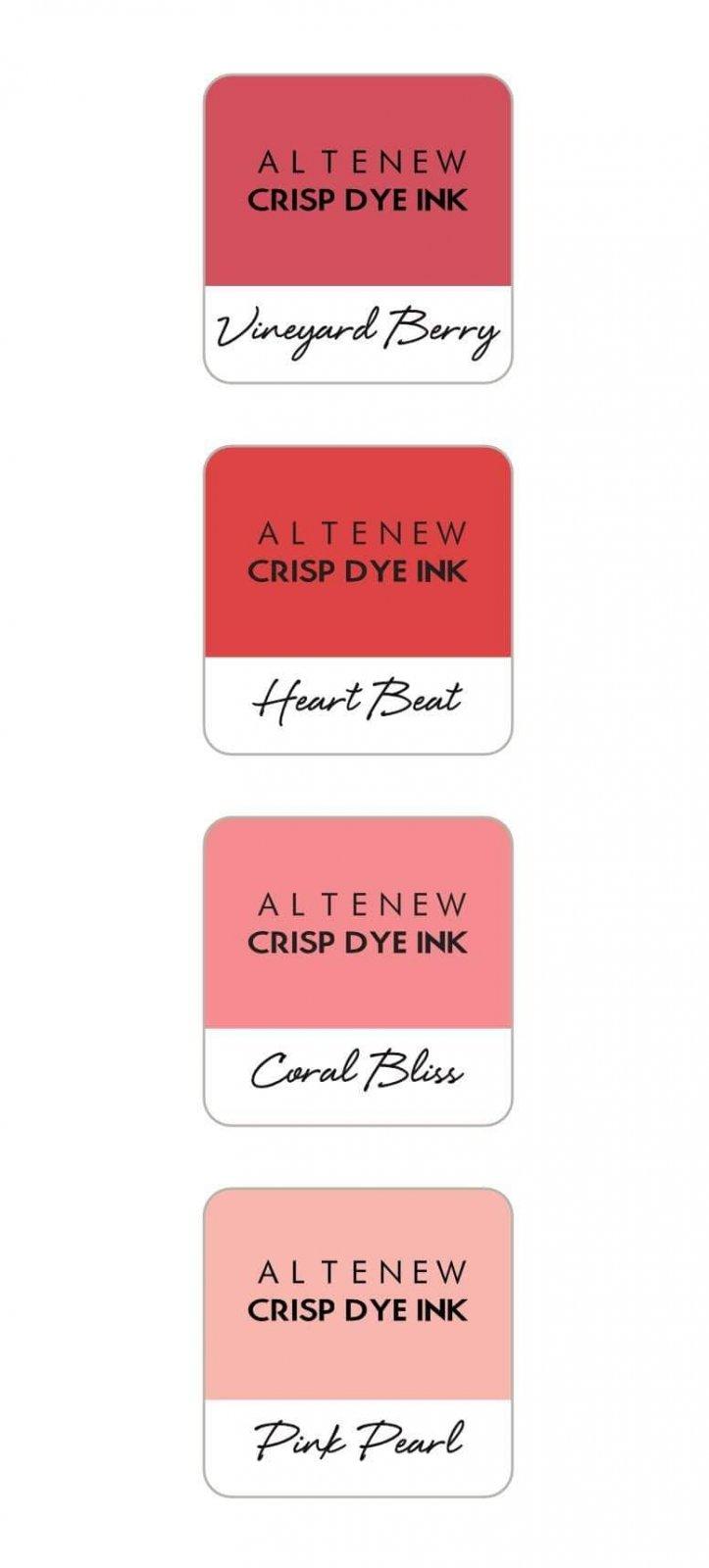 Altenew - Tea Party Crispy Dye Ink Mini Cube Set