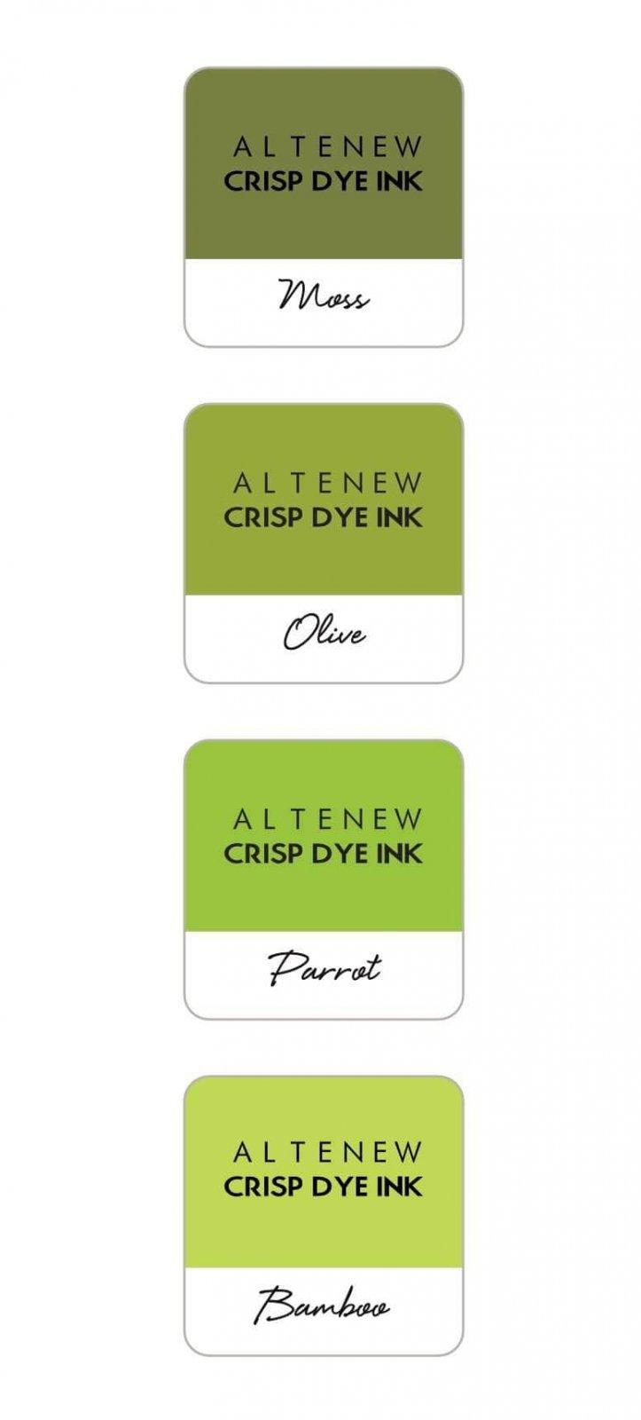 Altenew - Tropical Forest Crispy Dye Ink Mini Cube Set