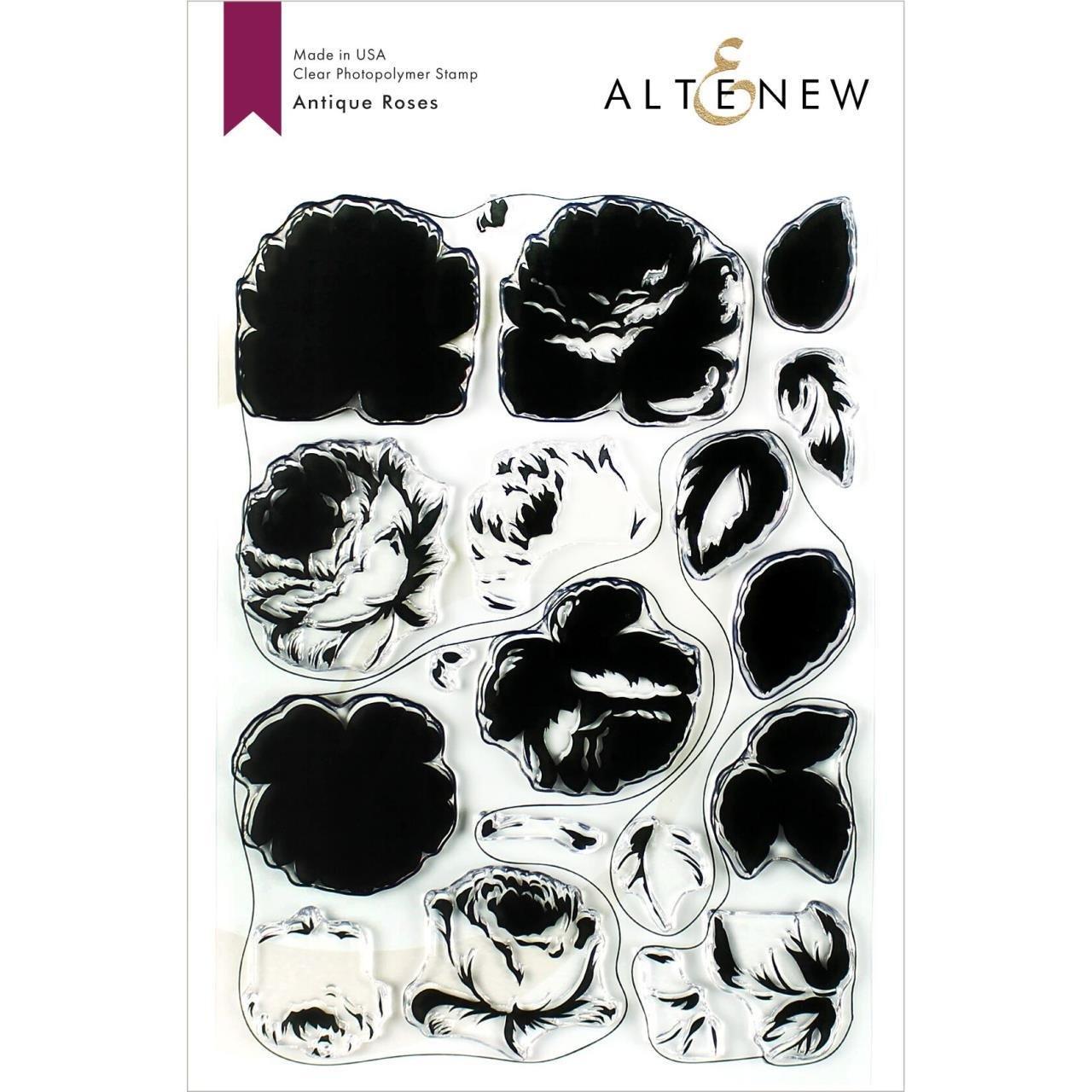 Altenew - Antique Roses Stamp/Die Set
