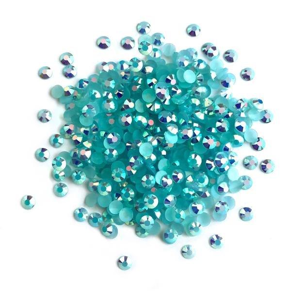 Button's Galore - Aquamarine AB Jewelz