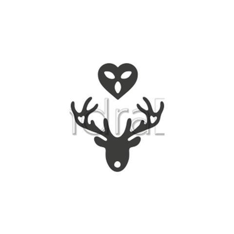 Alexandra Renke - Deer with Heart Die