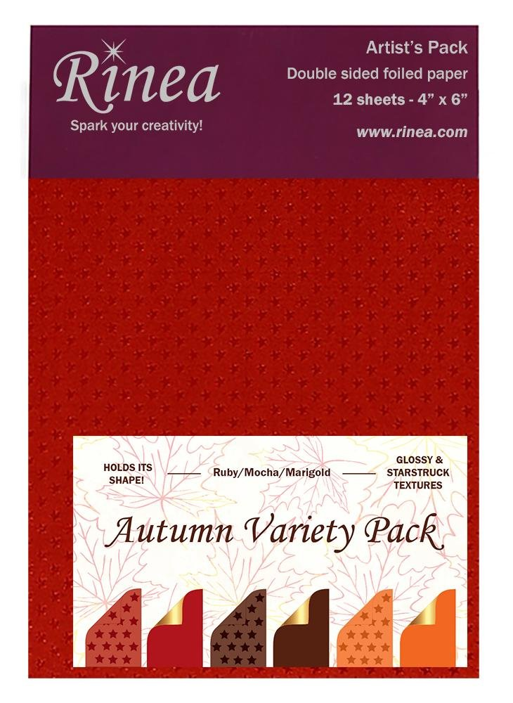 Rinea - Autumn Variety Pack 4x6