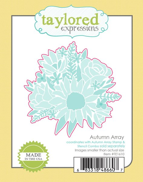 Taylored Expressions - Autumn Array Die