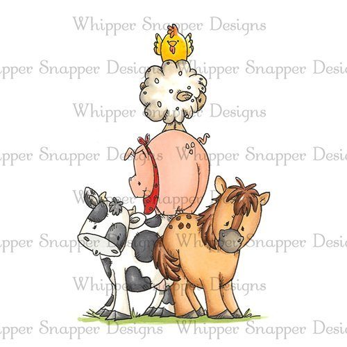 Whipper Snapper - Farm Pile Cling Stamp