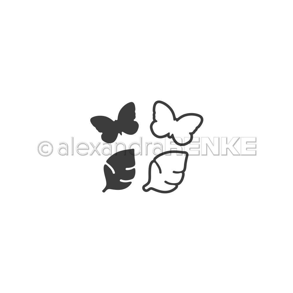 Alexandra Renke - Butterfly and Leaf Die