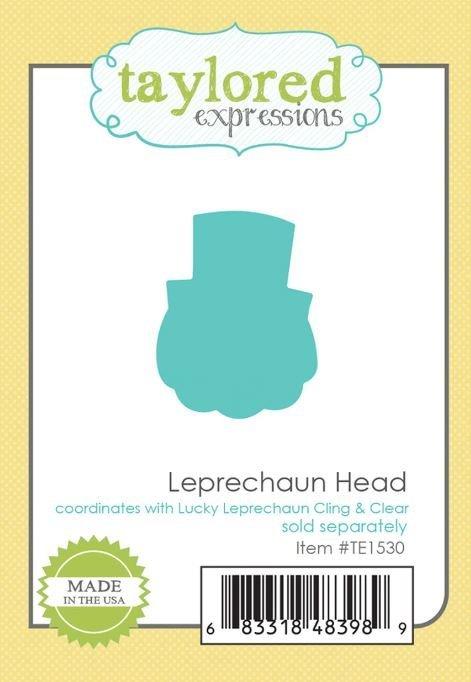 Taylored Expressions - Leprechaun Head Die
