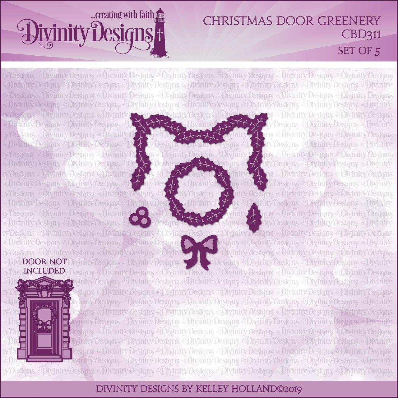 Divinity Designs - Christmas Door Greenery Die