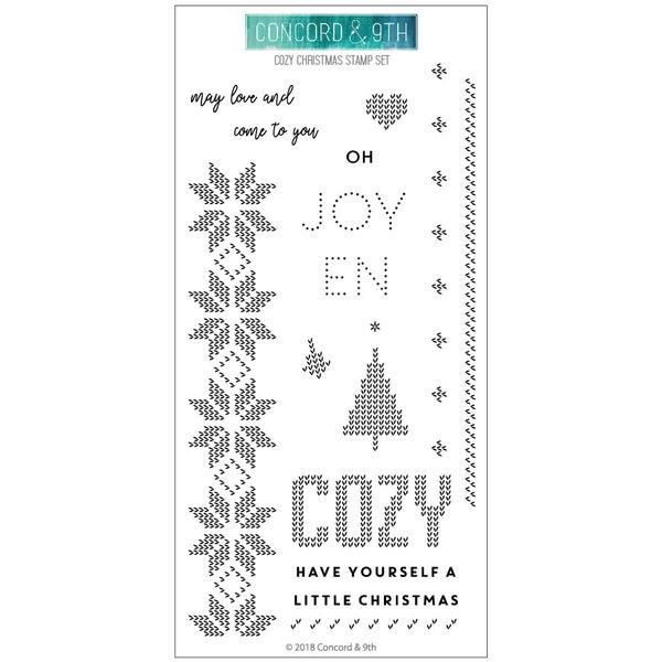 Concord & 9th - Cozy Christmas Stamps Set