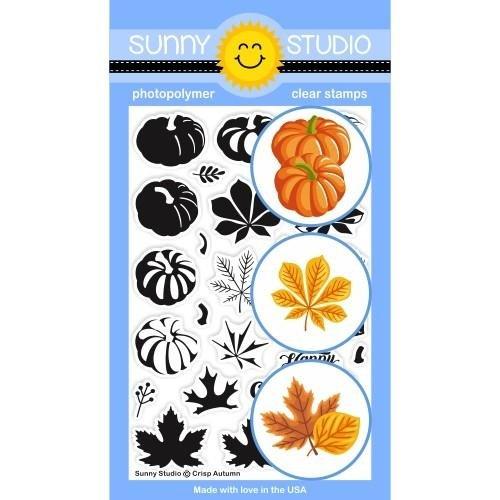 Sunny Studios - Crisp Autumn Stamp Set